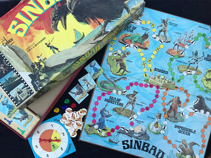 Vintage Sinbad game from 1978 by aco