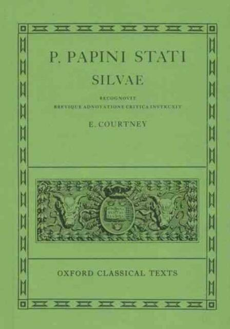 Silvae by P. Papinius Statius (English) Hardcover Book Free Shipping!