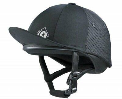 Charles Owen 4 Star Jockey Skull Riding Hat Helmet