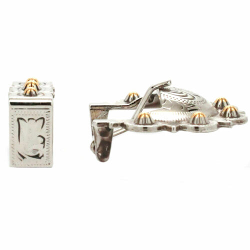 Calgary Berry Buckle Set Antique Nickel and Rose Gold 3//4 Inch 4507-60