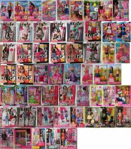 #01 Barbie-Puppe-Mattel-Aussuchen: FCP73, GDJ37, BLL70, DWJ65, DWJ64