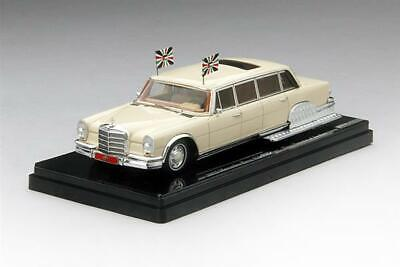 128 MERCEDES BENZ 600 pullman REPRO BOX DINKY n