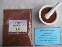 Mexico Sundried X Hot Red Chile Powder 8 Ounces Free Ship For Usa
