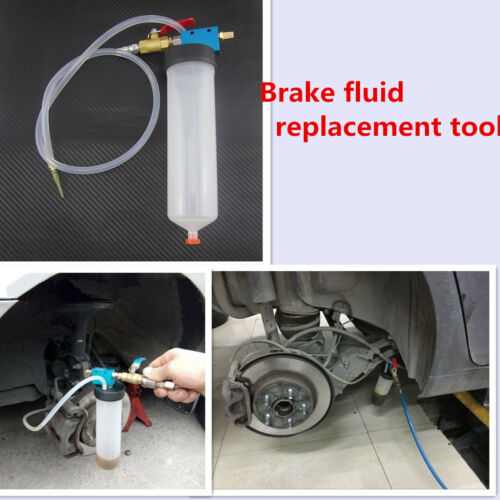 Hydraulic Clutch Fluid Bleeding Kit FREE PICK UP Brake Bleeder One Man Type