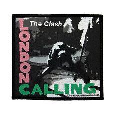 """The Clash: London Calling"" Album Art Punk Rock Band Music Sew On Applique Patch"
