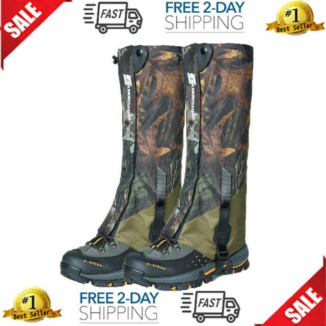Anti Bite Snake Guard Leg Protection Gaiter Cover Hiking Camping Hunting US