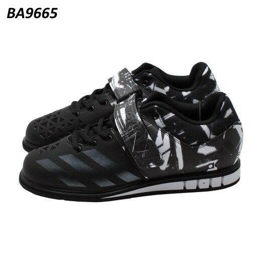 ADIDAS POWERLIFT 3 homme Weightlifting chaussures BA9665 Taille 8.5 US