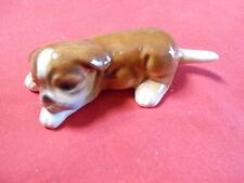 Real Cute Vintage GOEBEL W.Germany BOXER Puppy Dog Figurine.................SALE