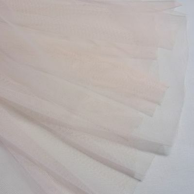 2 Color Lovely Tulle Net Lace Fabric Wedding Doll Dress Sewing Craft 152cm Wide