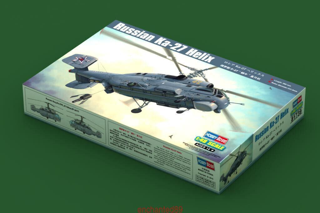 Hobbyboss 81739 1 48 Russian Ka-27 Helix