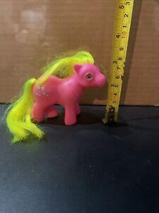Vintage Baby Shady My Little Pony G1 Beddy Bye Eyes Figure Hasbro MLP 1986
