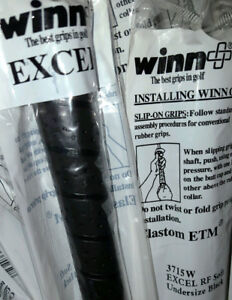 New-WINN-EXCEL-Ladies-Undersize-Soft-Wrap-Golf-Grip-3715W-BLACK-1-32-034