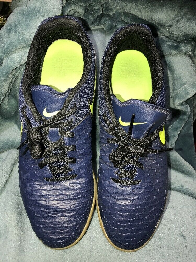 NIKE MAGISTAX PRO LOW SOCCER SNEAKERS{MENS NAVY BLUE SIZE 11 Casual wild