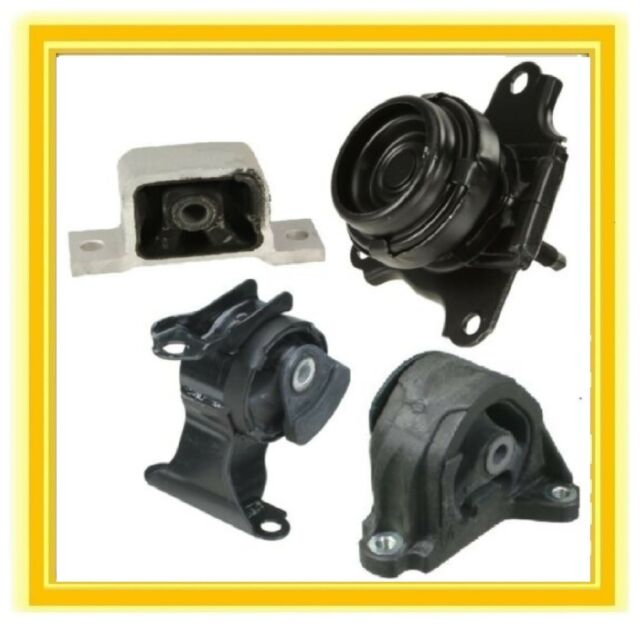 4 Motor Mounts For 2002-2006 Acura RSX Base 2.0 L4 Auto