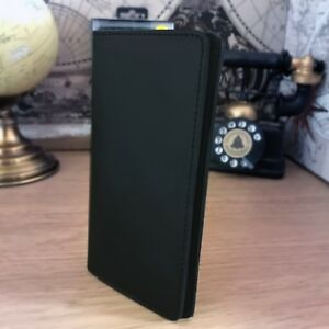 Xperia-XZ1-Real-Leather-Wallet-Slip-Case-Pouch-Business-Card-Slots-Mobstar