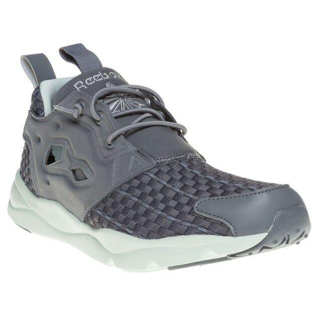 86091470f18 Reebok Classic Furylite Woven Women s Sneaker Trainers Grey V68869 7 for  sale online