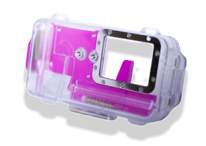 Nautismart Pro iPhone and Android Scuba Diving Phone 60m Underwater Pink Case