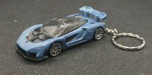 HotWheels-McLaren-Senna-Portachiavi-Diecast-Auto