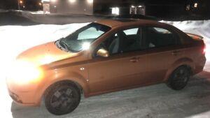2007 Chevrolet Aveo Lt $4400 Cert
