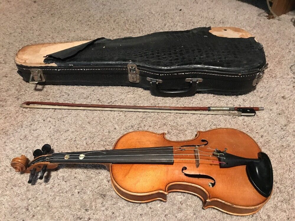 Anton Becker Copie Replica Antonius Stradivarius Violin Germany