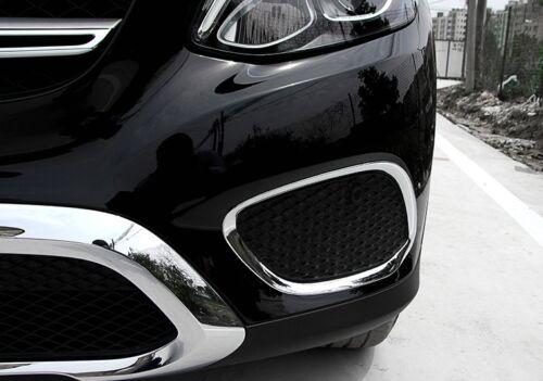 Ventilation vétéri en ABS Chrome couverture pour Mercedes GLC