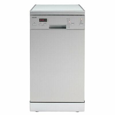 Details about  Euro EDS45XS Freestading Slimline 45 cm Dishwasher