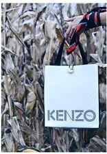Kenzo X H&M leather market tote shopper handbag