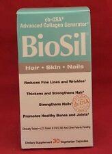 Natural Factors Biosil Hair Skin Nail 30 Veg Caps Advanced Collagen Generator