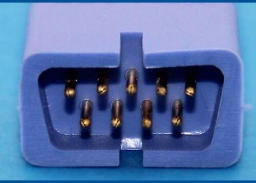 Nellcor Oximeter Pulsoxymetrie Oximax SPO2 Finger Clip Sensor DB9pins Pin DS100A