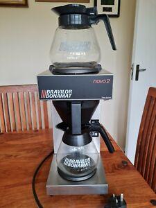 Bravilor Bonomat Novo 2 plus 2 X Glass Coffee Jugs