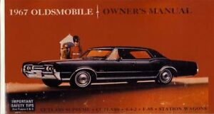 1967 oldsmobile 442 cutlass f 85 owners manual guide reference rh ebay com 1971 Oldsmobile Cutlass 1962 Oldsmobile Cutlass