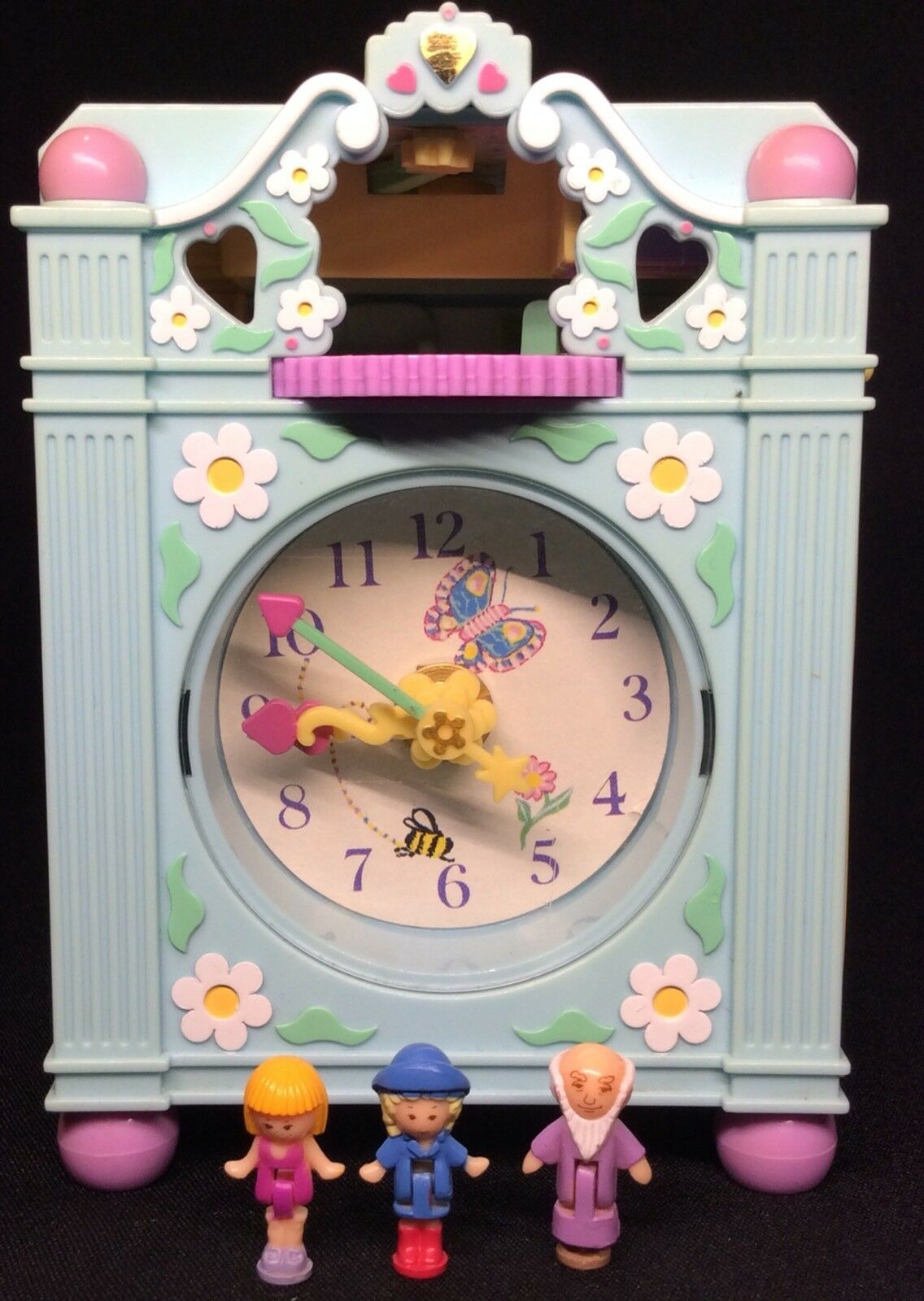 Polly Pocket Mini  1991-Polly Pocket Funtime Clock Playset 1.1