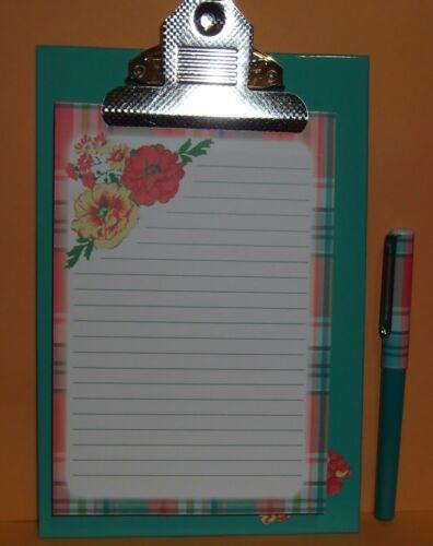 April Cornell 100 Piece Paper Notepad Memo Pad Pen /& Clipboard Desk Office NEW