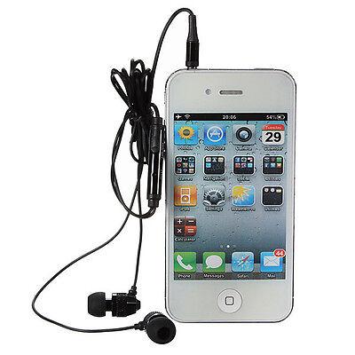 3.5mm Metal Headphone Earphone Headset Earbuds For Apple Samsung HTC Nokia