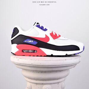 free shipping ce75b 24897 Details zu Nike Air Max 90 Essential Raptors Neu Herren Sneaker Schuhe Weiß  Rot AJ1285-106