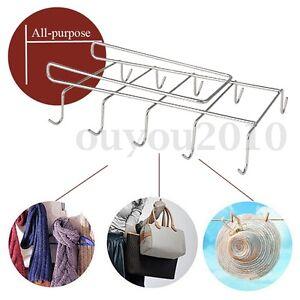 mug holder coffee tea cup rack storage kitchen under shelf cabinet hanger hooks ebay. Black Bedroom Furniture Sets. Home Design Ideas