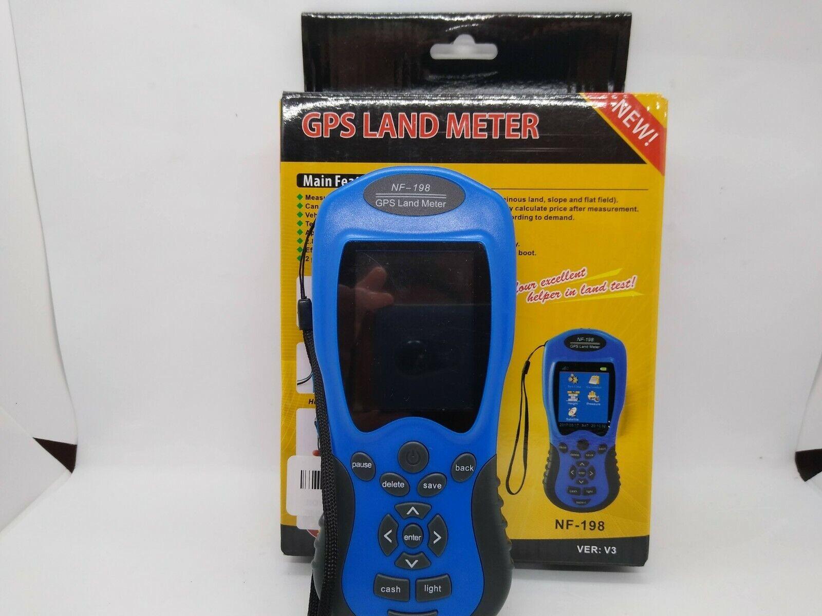 Noyafa NF-198 GPS Land Area Measuring Instrument Land Survey Meter Device