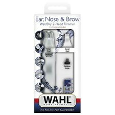 Wahl Dual Head Ear, Nose - Brow Personal Trimmer 1 ea (Pack of 2)
