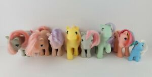 My Little Pony MLP G1 Lot of 8 82 83 84 87 Vintage Ponies