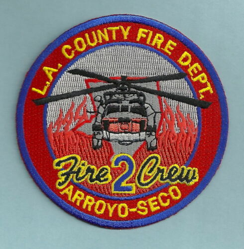 LOS ANGELES COUNTY CALIFORNIA FIRE DEPARTMENT CAMP 2 ARROYO SECO PATCH