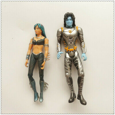 """lot of 4 Miles from Tomorrowland Callisto Family Mission action Figure 2/""""-4/"""" M5"""