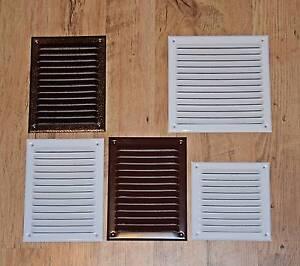 Suivi Des Vols Air Vent Grille Avec Moustiquaire/anti Insecte Maille Métal Conduit Ventilation Housse-afficher Le Titre D'origine