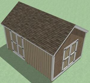 how to build a brick shed step by step