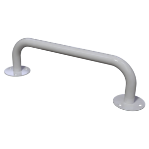 Haltegriff Handlauf Griff für barrierefreies Bad 100 cm weiß ⌀ 25 mm