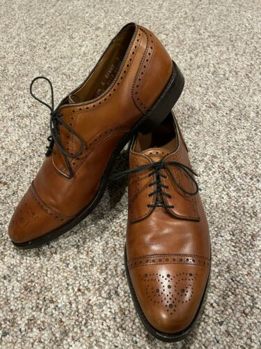 Allen Edmonds Sanford 10.5 E Derby Mens Dress Shoe