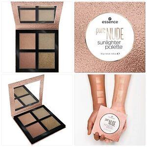 essence Pure Nude Highlighter Palette - Nr. 10 Sunlighter