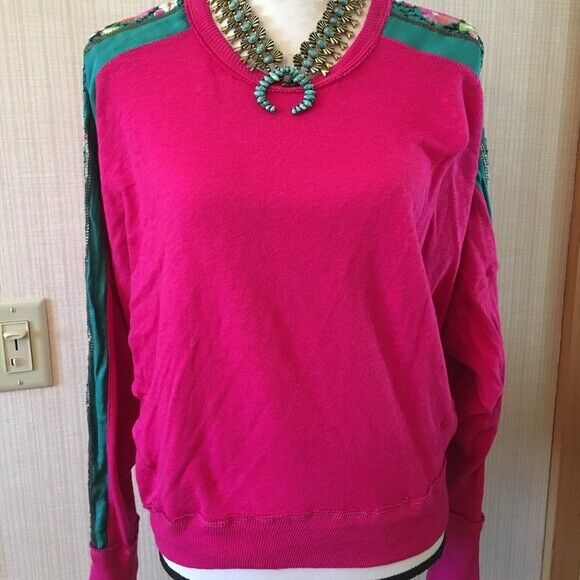 WE THE FREE Rosa Embroiderot dolman sweater Small Gorgeous    BNWOT
