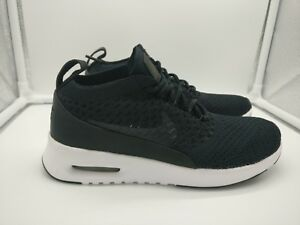 f11ab0893bca Nike Womens Air Max Thea Ultra Flyknit Pinnacle UK 2.5 Black White ...