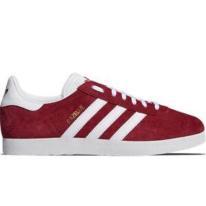 Adidas Originals Gazelle B41645 Red Suede Leather Men Shoes   eBay