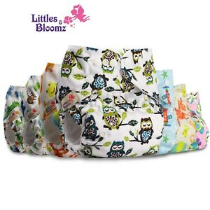 Baby-Reusable-Washable-Pocket-Cloth-Nappy-Stoffwindeln-Panal-Couches-Pannolini